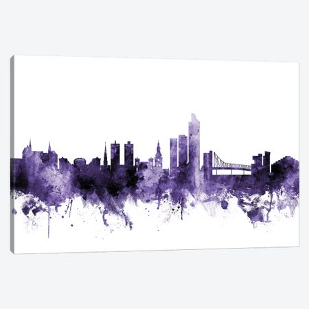 Oslo, Norway Skyline Canvas Print #MTO666} by Michael Tompsett Canvas Art