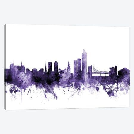 Oslo, Norway Skyline Canvas Print #MTO666} by Michael Tompsett Canvas Art