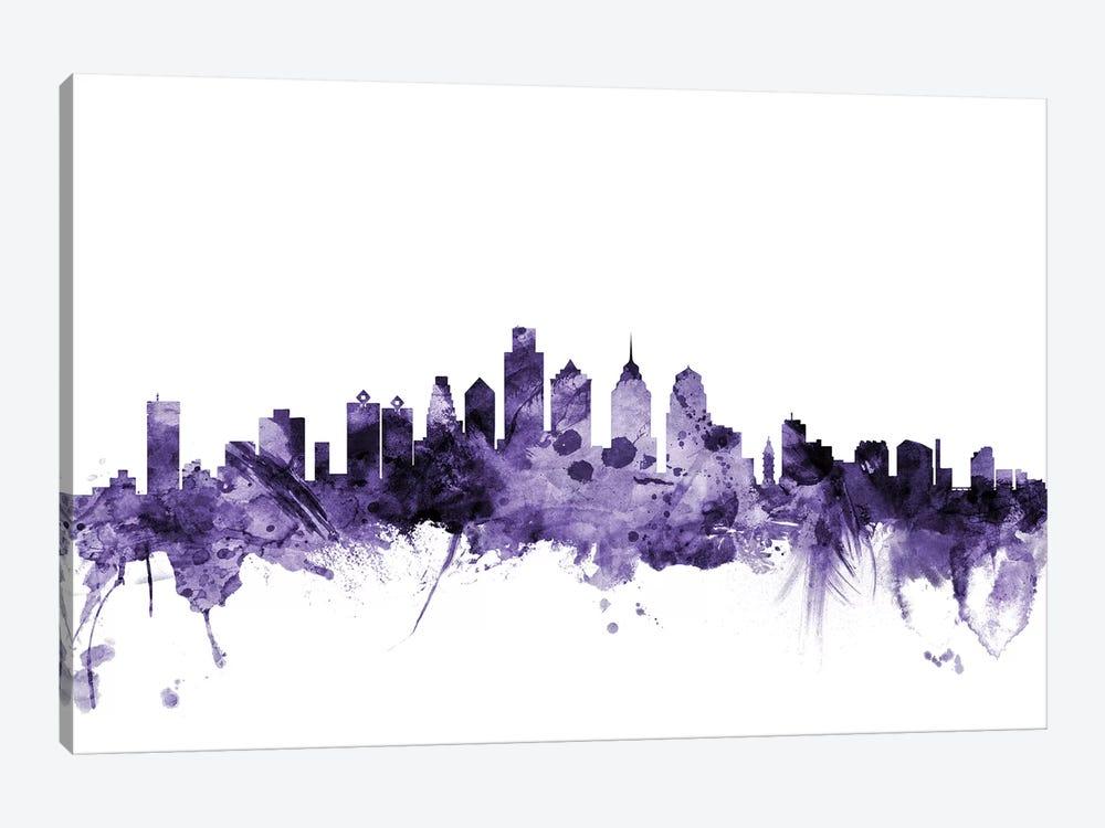 Philadelphia, Pennsylvania Skyline by Michael Tompsett 1-piece Art Print
