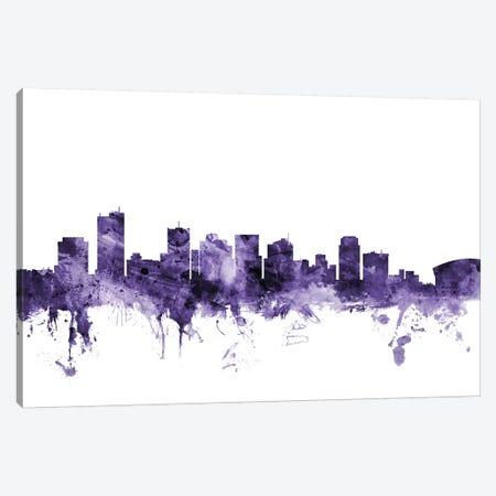 Phoenix, Arizona Skyline 3-Piece Canvas #MTO672} by Michael Tompsett Canvas Artwork