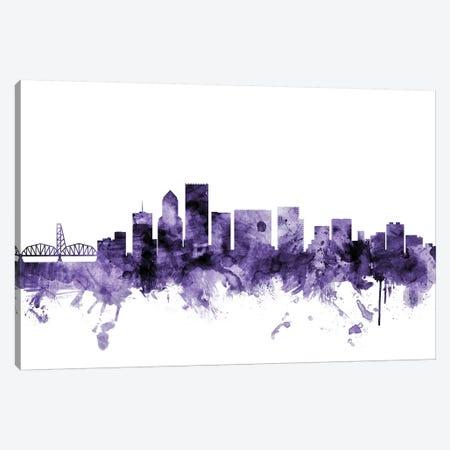 Portland, Oregon Skyline Canvas Print #MTO676} by Michael Tompsett Canvas Print
