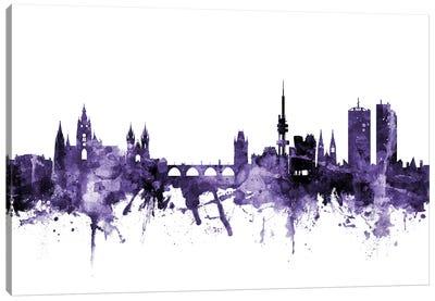 Prague (Praha), Czech Republic Skyline Canvas Art Print