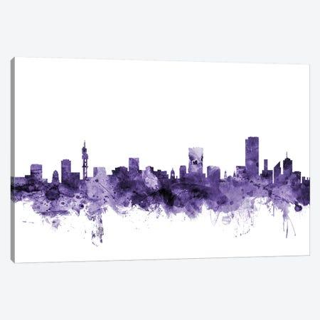 Pretoria, South Africa Skyline Canvas Print #MTO679} by Michael Tompsett Canvas Artwork