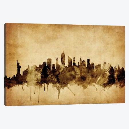 New York City, New York, USA II Canvas Print #MTO67} by Michael Tompsett Canvas Art