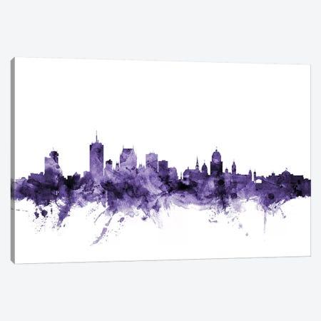 Quebec, Canada Skyline Canvas Print #MTO681} by Michael Tompsett Art Print