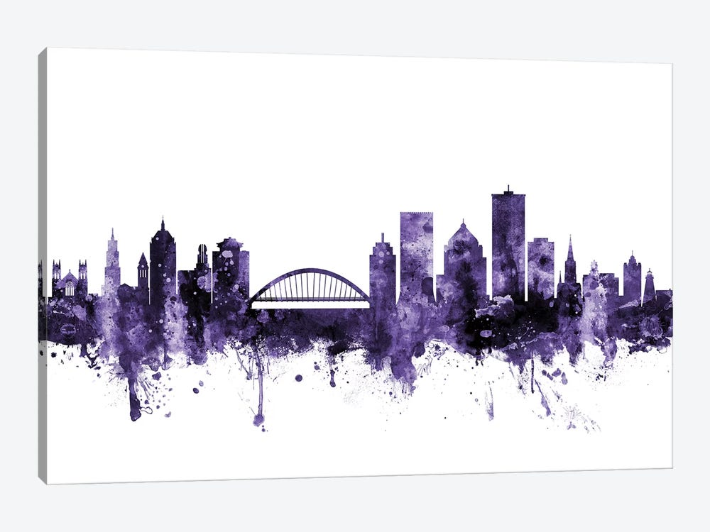 Rochester, New York Skyline 1-piece Art Print