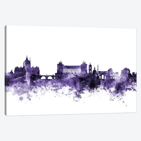 Rome, Italy Skyline Canvas Print #MTO685} by Michael Tompsett Canvas Art