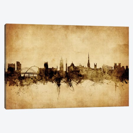 Newcastle, England, United Kingdom Canvas Print #MTO68} by Michael Tompsett Canvas Print