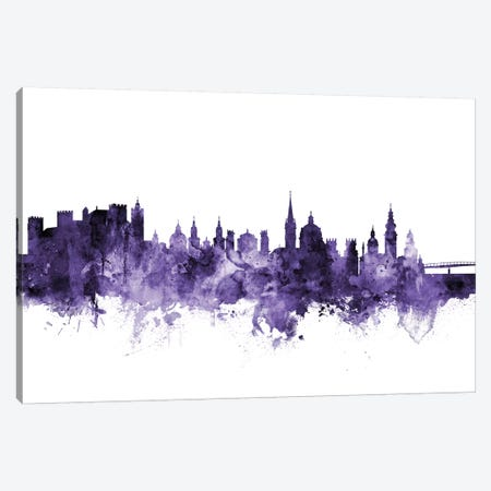 Salzburg, Austria Skyline Canvas Print #MTO690} by Michael Tompsett Canvas Art
