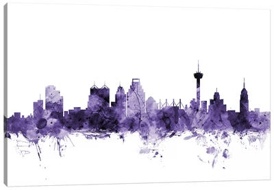 San Antonio, Texas Skyline Canvas Art Print