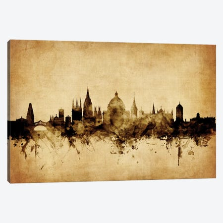 Oxford, England, United Kingdom Canvas Print #MTO69} by Michael Tompsett Canvas Art Print