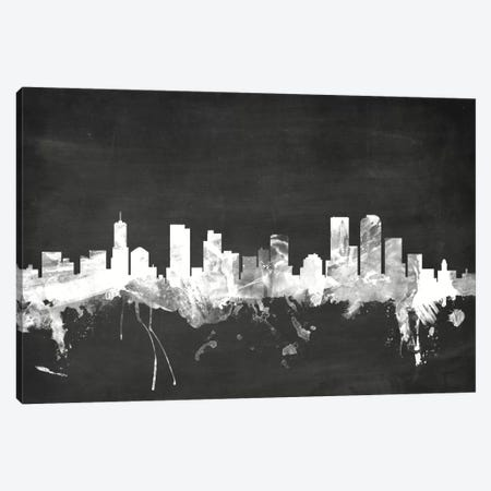 Denver, Colorado, USA Canvas Print #MTO6} by Michael Tompsett Canvas Art