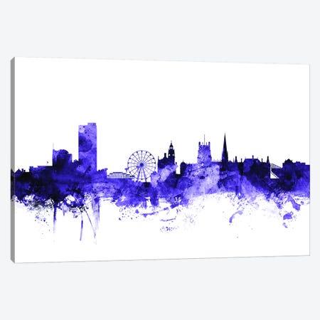 Sheffield, England Skyline Canvas Print #MTO700} by Michael Tompsett Canvas Art