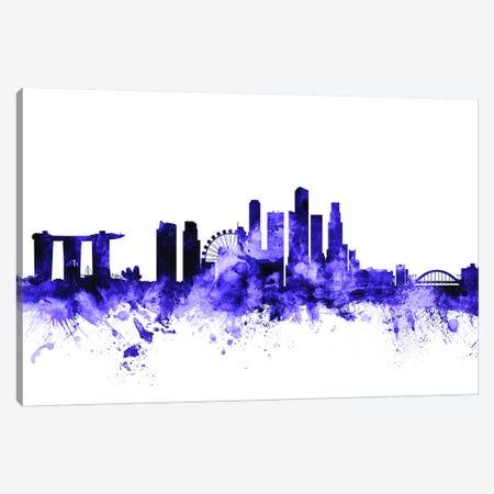 Singapore Skyline Canvas Print #MTO702} by Michael Tompsett Canvas Art