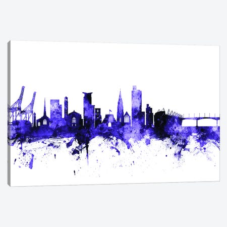 Southampton, England Skyline Canvas Print #MTO703} by Michael Tompsett Canvas Artwork