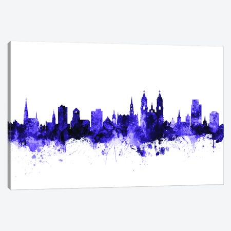 St. Gallen, Switzerland Skyline Canvas Print #MTO704} by Michael Tompsett Canvas Art Print