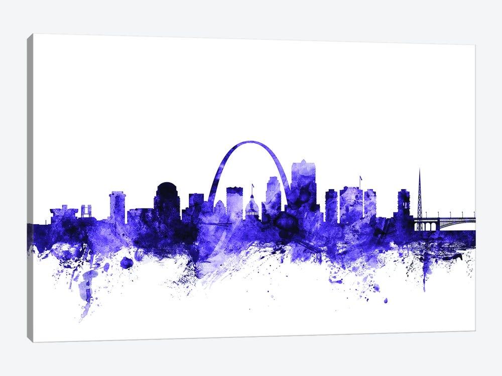 St. Louis, Missouri Skyline by Michael Tompsett 1-piece Art Print