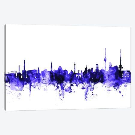 Stuttgart, Germany Skyline Canvas Print #MTO707} by Michael Tompsett Art Print