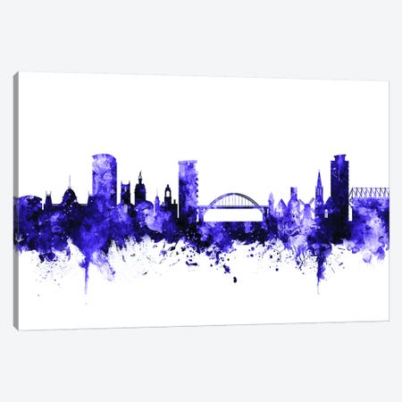 Sunderland, England Skyline Canvas Print #MTO708} by Michael Tompsett Canvas Artwork