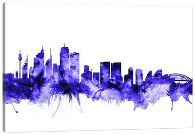Sydney, Australia Skyline Canvas Art Print