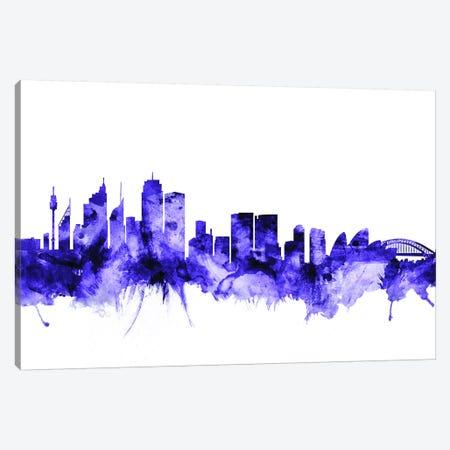 Sydney, Australia Skyline Canvas Print #MTO709} by Michael Tompsett Canvas Artwork