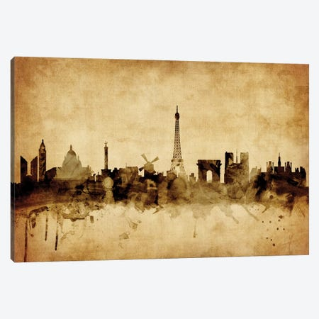 Paris, France Canvas Print #MTO70} by Michael Tompsett Canvas Wall Art