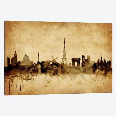 Paris, France Canvas Print #MTO70} by Michael Tompsett Canvas Wall Art