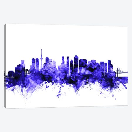 Tokyo, Japan Skyline Canvas Print #MTO714} by Michael Tompsett Canvas Artwork