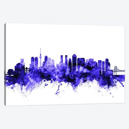 Tokyo, Japan Skyline Canvas Print #MTO714} by Michael Tompsett Canvas Artwork