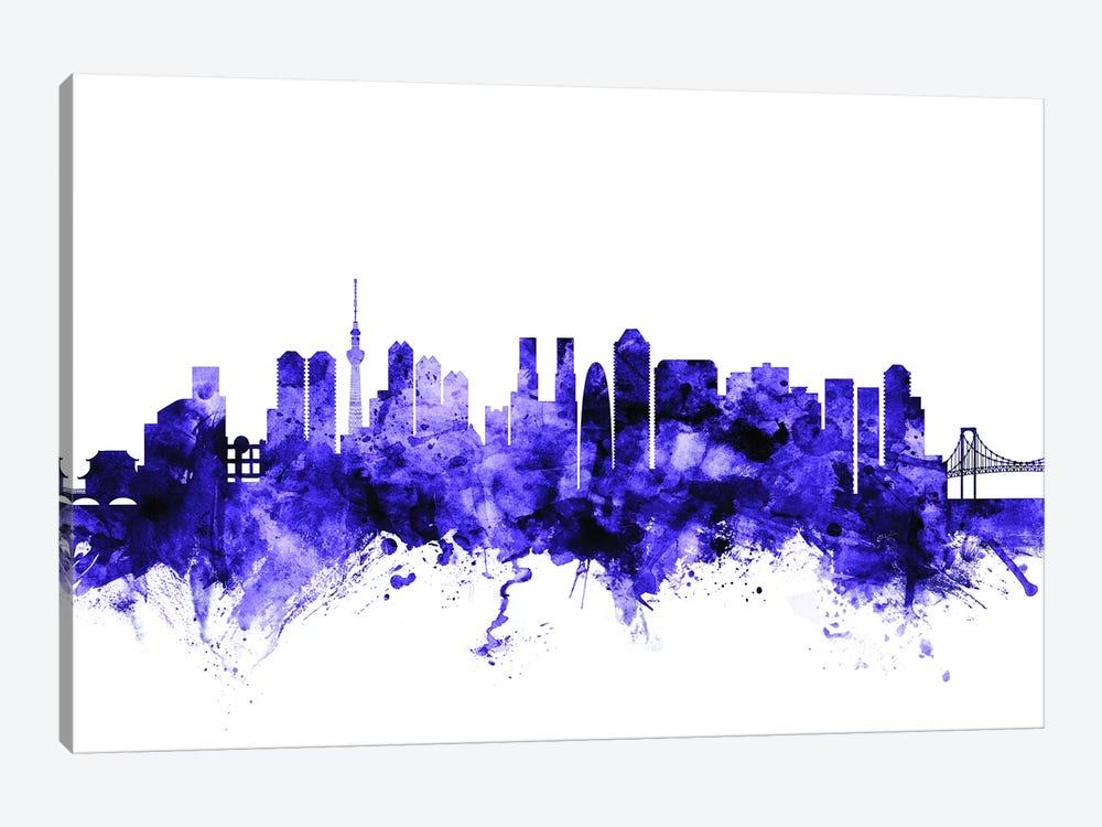 Tokyo, Japan Skyline by Michael Tompsett 1-piece Art Print