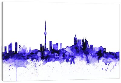 Toronto, Canada Skyline Canvas Art Print