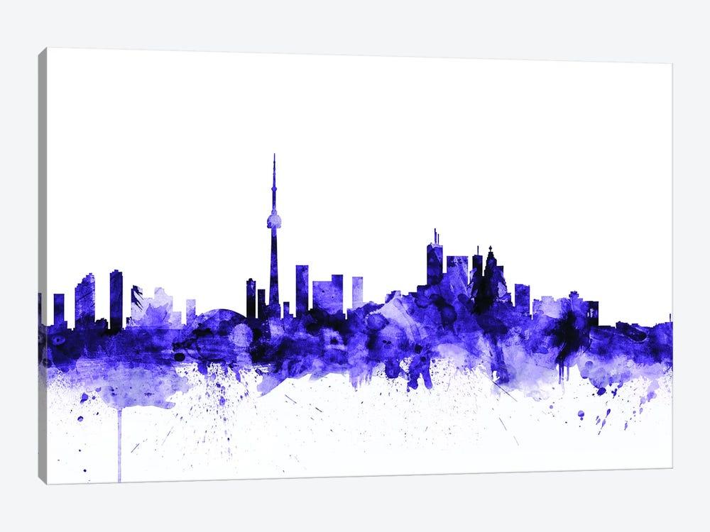 Toronto, Canada Skyline by Michael Tompsett 1-piece Art Print