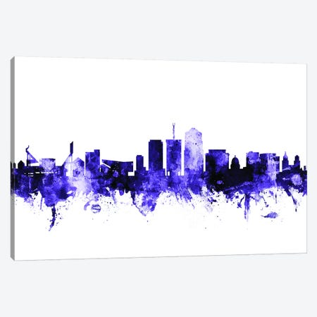 Tucson, Arizona Skyline Canvas Print #MTO717} by Michael Tompsett Canvas Art