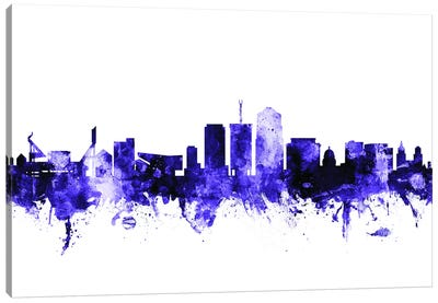 Tucson, Arizona Skyline Canvas Art Print