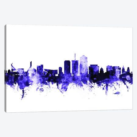 Tucson, Arizona Skyline Canvas Print #MTO717} by Michael Tompsett Canvas Art