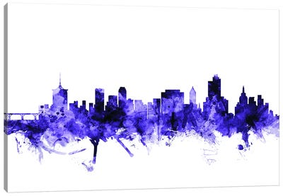 Tulsa, Oklahoma Skyline Canvas Art Print