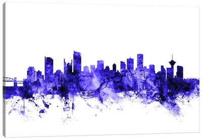 Vancouver, Canada Skyline Canvas Art Print