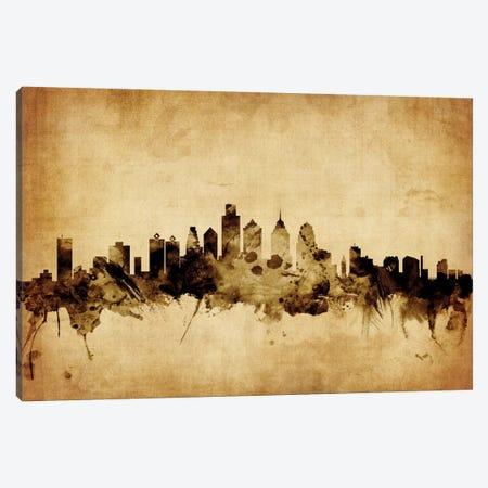 Philadelphia, Pennsylvania, USA Canvas Print #MTO71} by Michael Tompsett Canvas Art