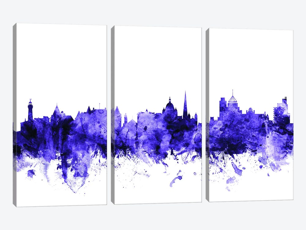 Victoria, Canada Skyline by Michael Tompsett 3-piece Canvas Print
