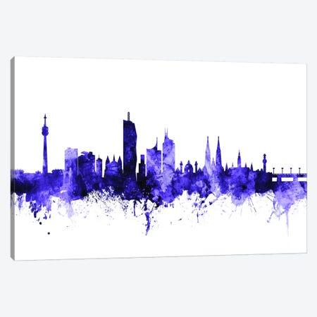 Vienna, Austria Skyline Canvas Print #MTO722} by Michael Tompsett Canvas Artwork