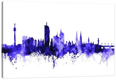 Vienna, Austria Skyline Canvas Art Print