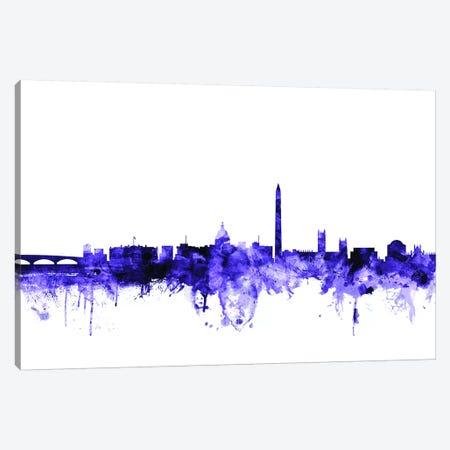 Washington, DC Skyline Canvas Print #MTO725} by Michael Tompsett Canvas Art Print