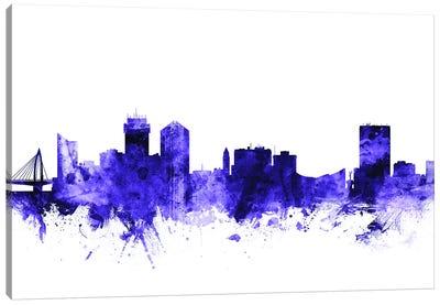 Wichita, Kansas Skyline Canvas Art Print