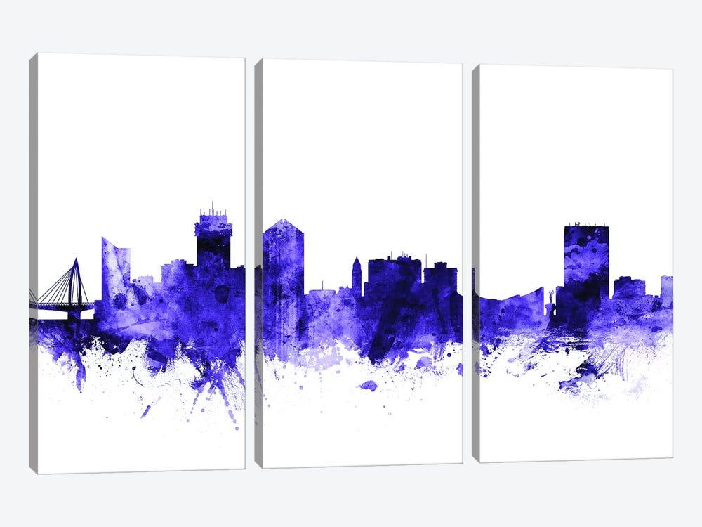 Wichita, Kansas Skyline by Michael Tompsett 3-piece Art Print