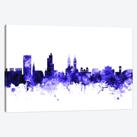Winterthur, Switzerland Skyline Canvas Print #MTO730} by Michael Tompsett Canvas Print