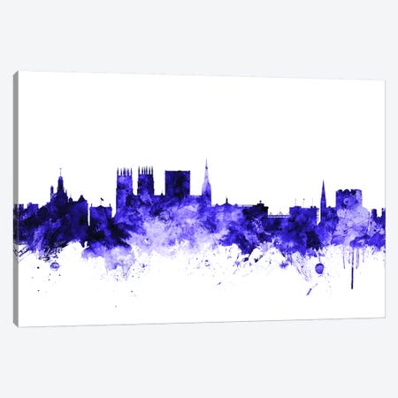 York, England Skyline Canvas Print #MTO731} by Michael Tompsett Canvas Art Print