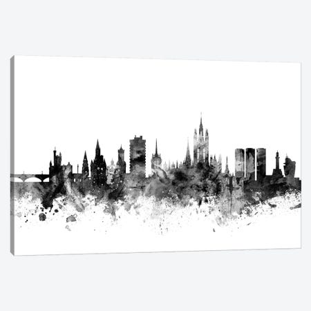 Aberdeen, Scotland In Black & White Canvas Print #MTO733} by Michael Tompsett Canvas Print