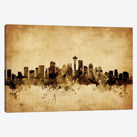 Seattle, Washington, USA Canvas Print #MTO74} by Michael Tompsett Canvas Print
