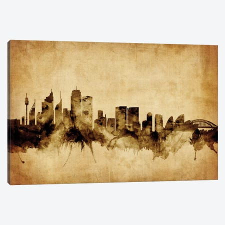 Sydney, Australia Canvas Print #MTO75} by Michael Tompsett Canvas Print