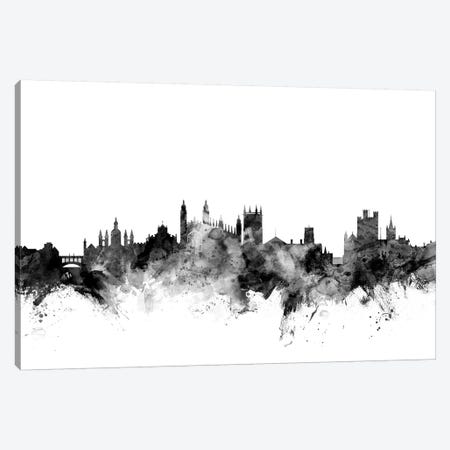 Cambridge, England In Black & White Canvas Print #MTO767} by Michael Tompsett Art Print